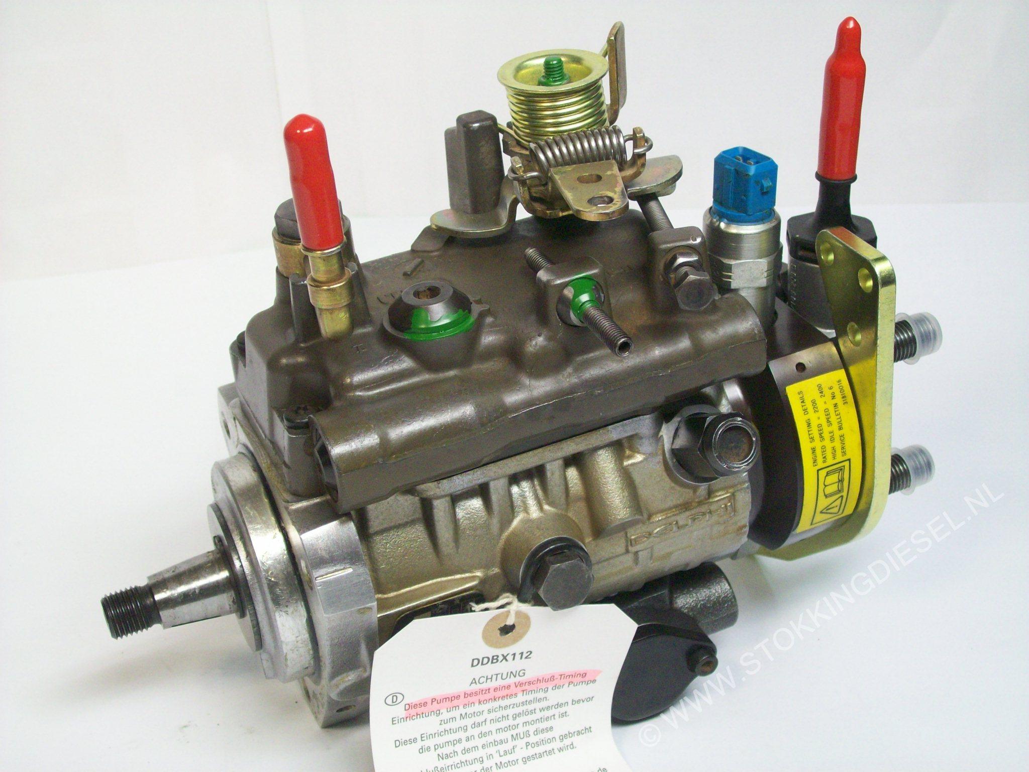 Fuel pumps - Perkins - Dieselservice Stokking BV - gespecialiseerd